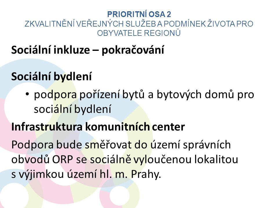 Zkvalitnění veřejných služeb a podmínek života pro obyvatele regionů