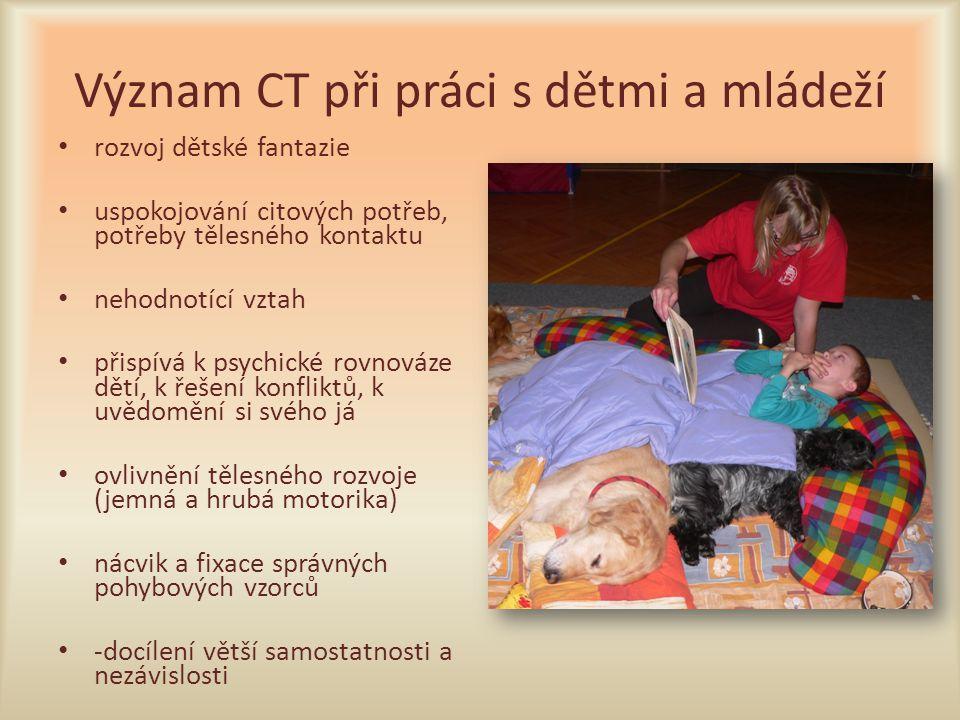 Význam CT při práci s dětmi a mládeží