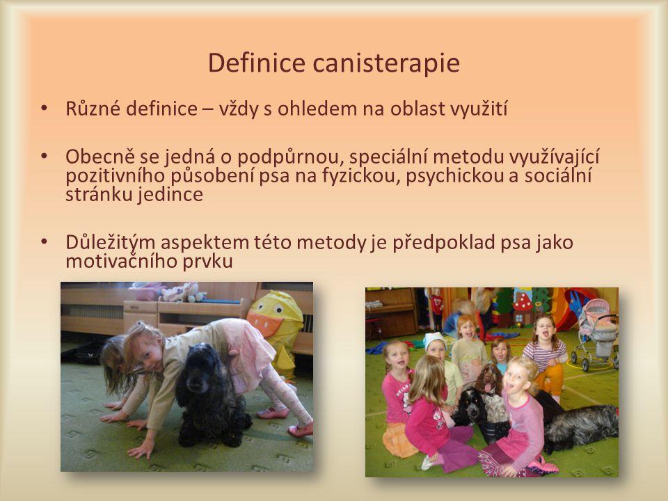 Definice canisterapie