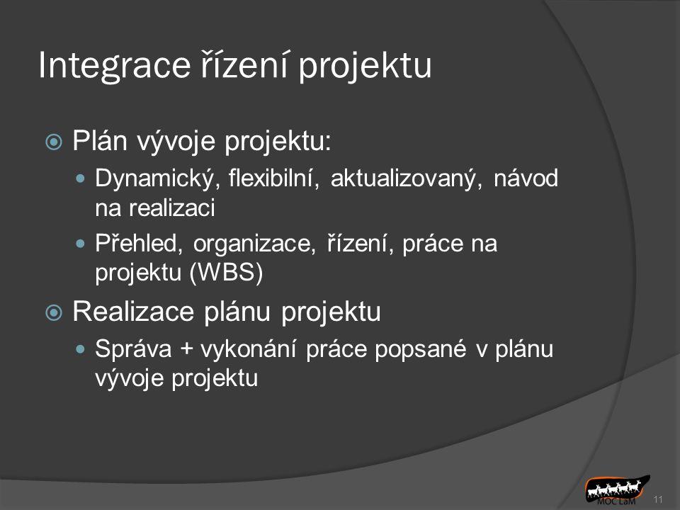 Integrace řízení projektu