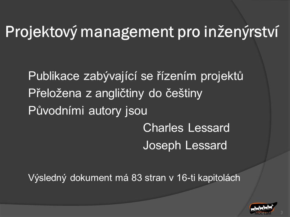 Projektový management pro inženýrství