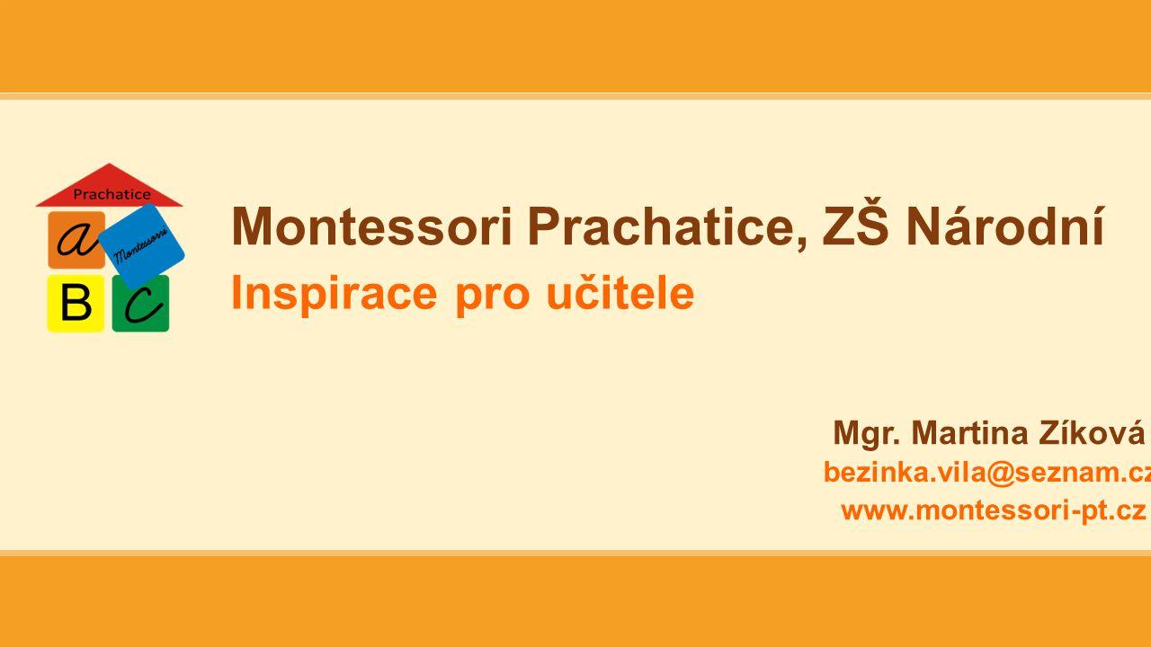 Montessori Prachatice, ZŠ Národní