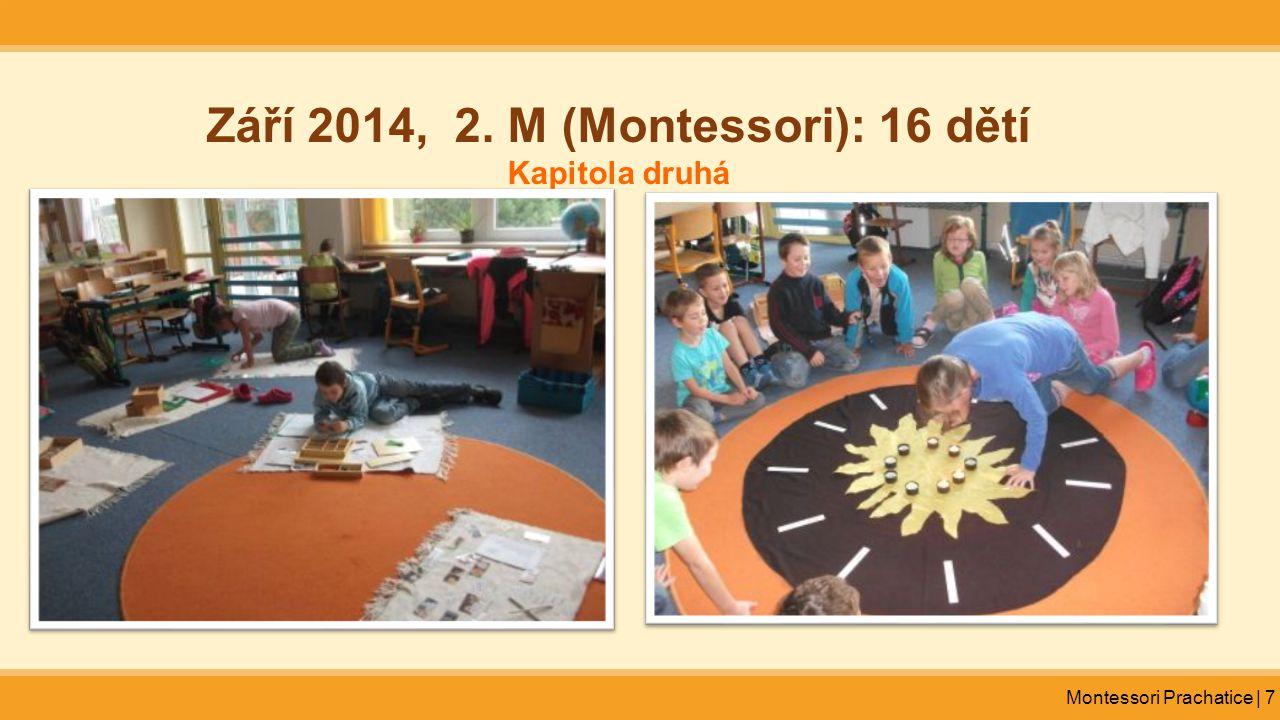 Září 2014, 2. M (Montessori): 16 dětí