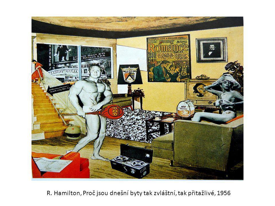 R. Hamilton, Proč jsou dnešní byty tak zvláštní, tak přitažlivé, 1956