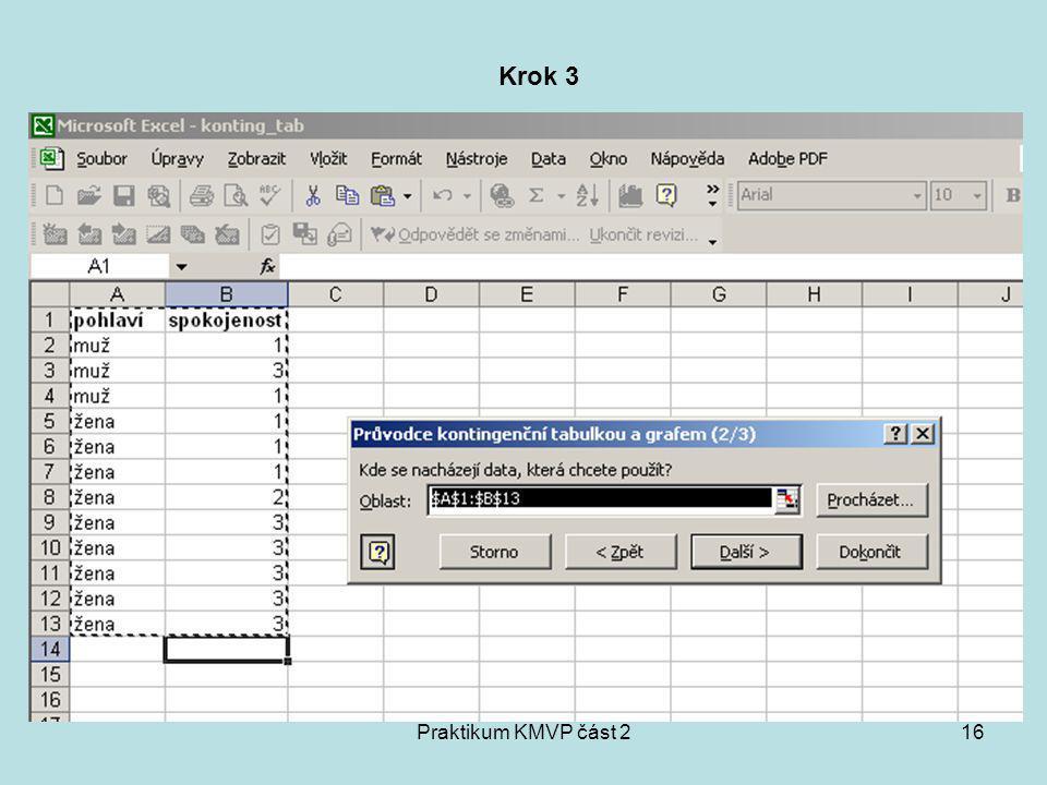 Krok 3 Praktikum KMVP část 2