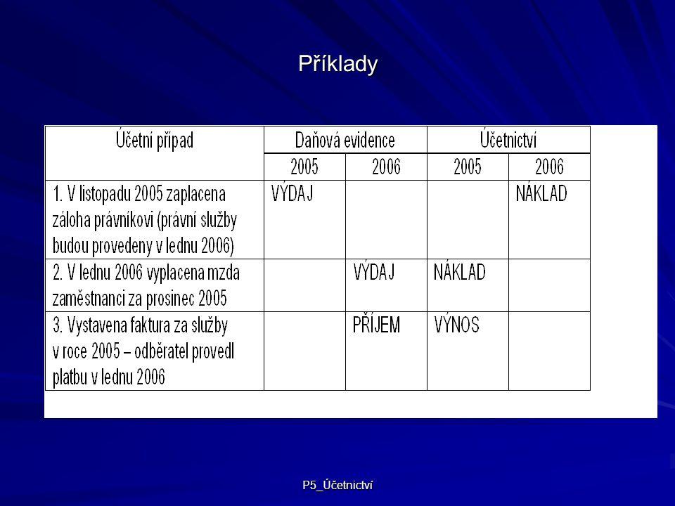 Příklady P5_Účetnictví