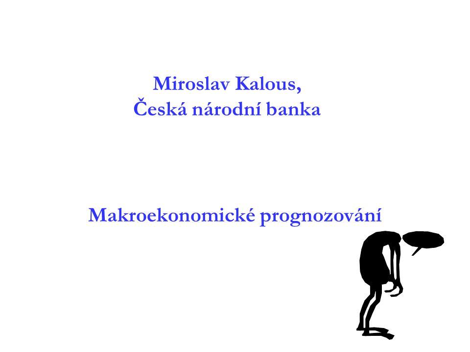 Miroslav Kalous, Česká národní banka