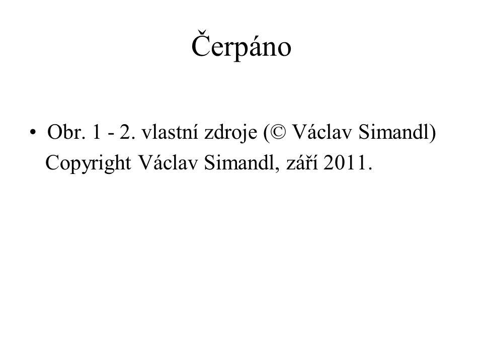 Čerpáno Obr. 1 - 2. vlastní zdroje (© Václav Simandl)