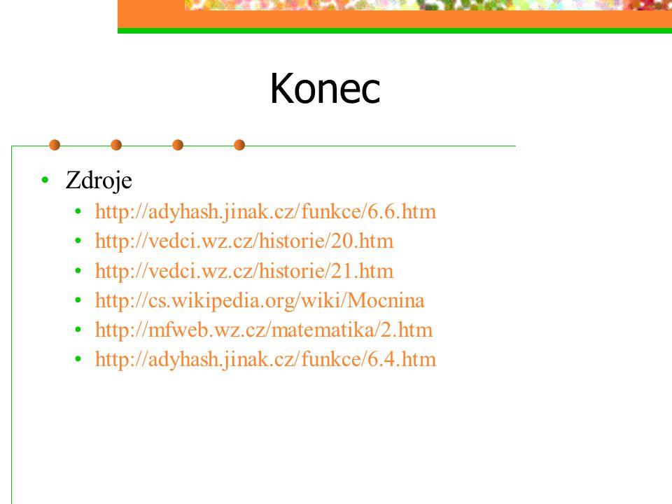 Konec Zdroje http://adyhash.jinak.cz/funkce/6.6.htm