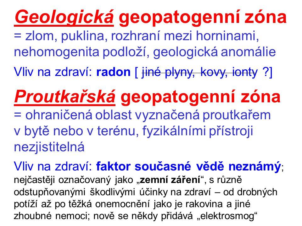 Geologická geopatogenní zóna