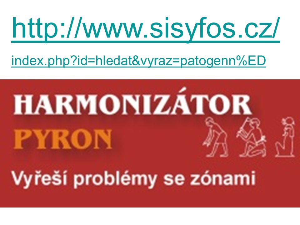 http://www.sisyfos.cz/ index.php id=hledat&vyraz=patogenn%ED