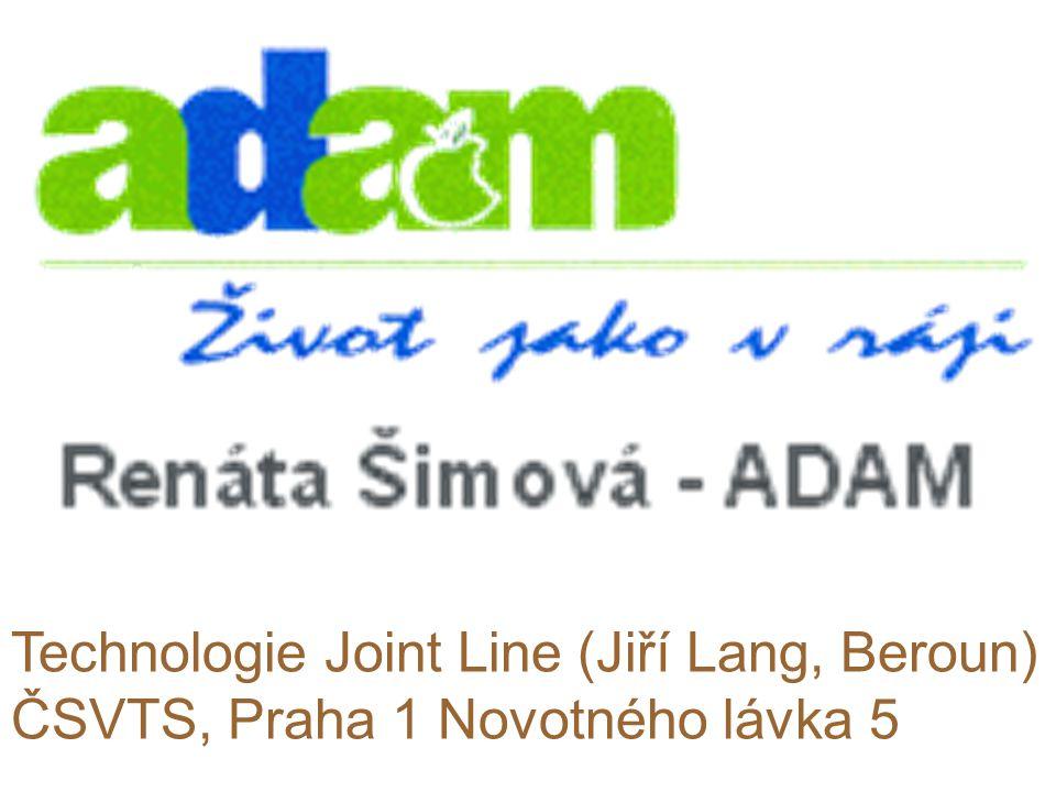 Technologie Joint Line (Jiří Lang, Beroun) ČSVTS, Praha 1 Novotného lávka 5