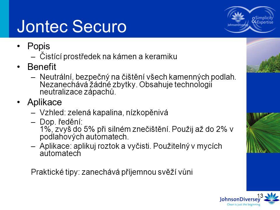 Jontec Securo Popis Benefit Aplikace