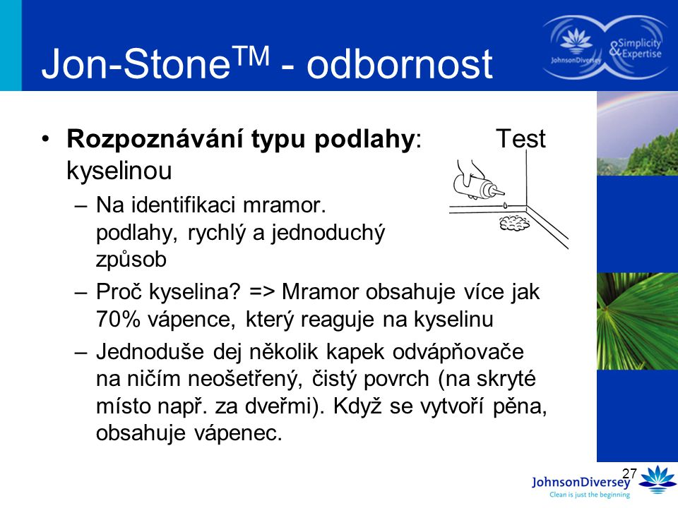 Jon-StoneTM - odbornost
