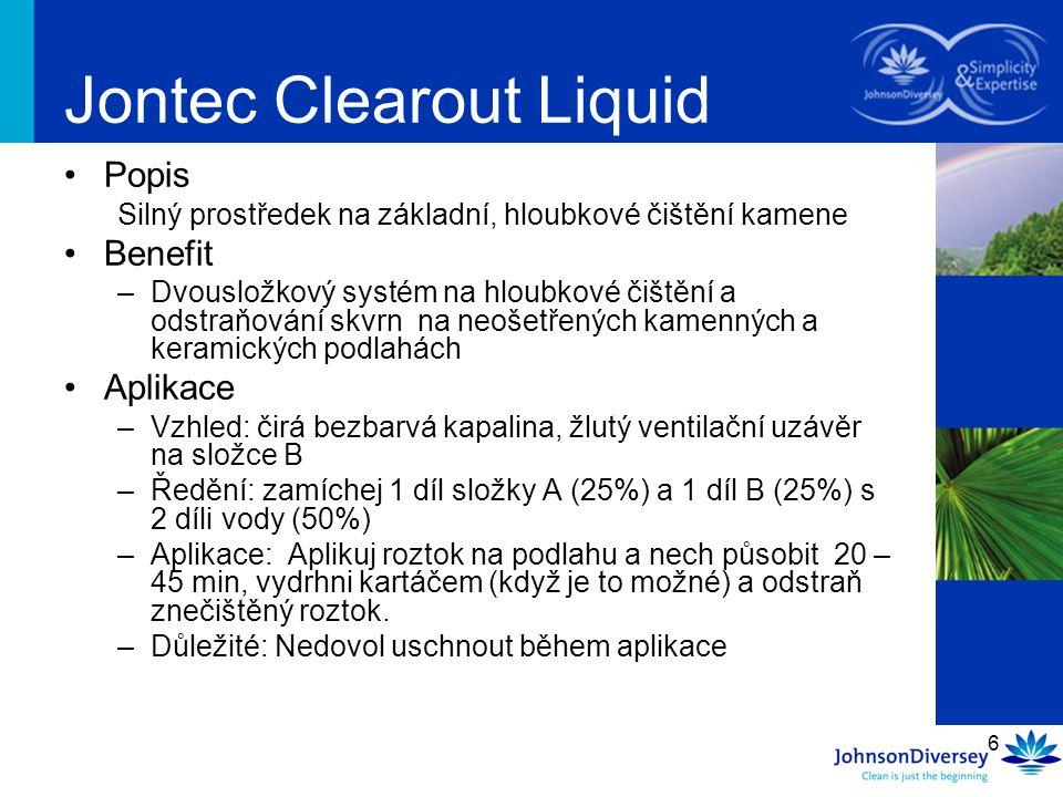 Jontec Clearout Liquid