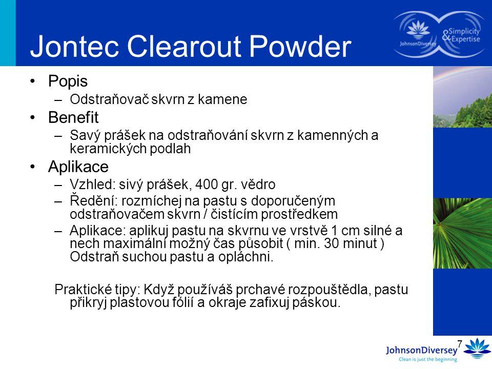 Jontec Clearout Powder