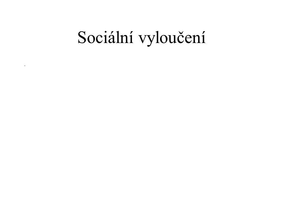Sociální vyloučení -