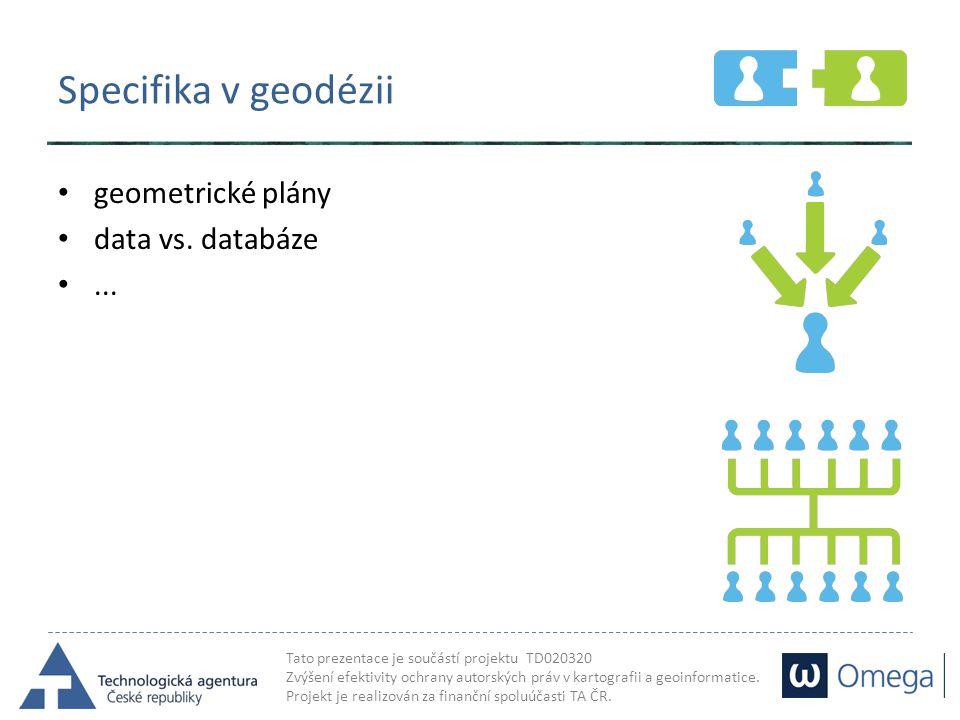 Specifika v geodézii geometrické plány data vs. databáze ...
