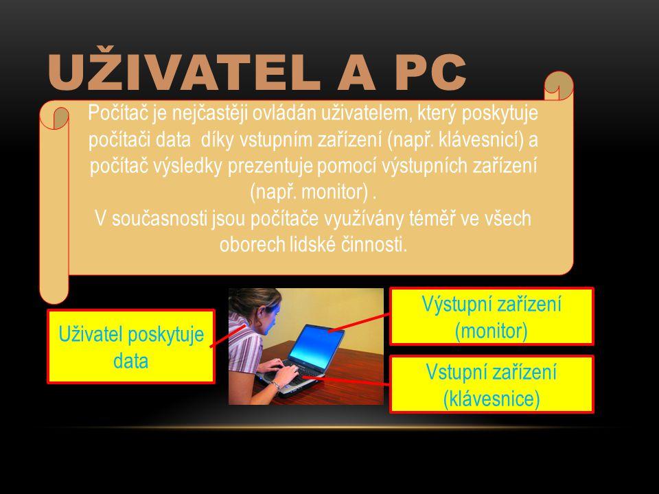 Uživatel a PC