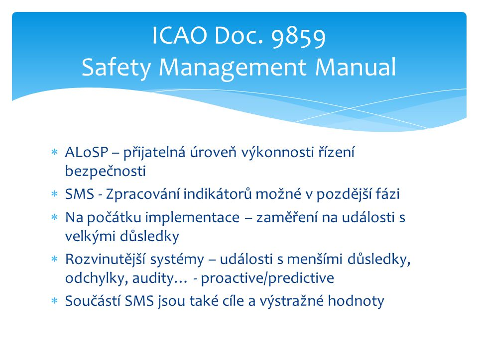 ICAO Doc. 9859 Safety Management Manual