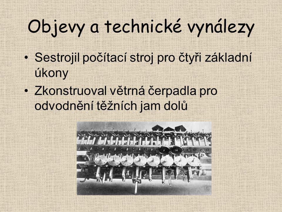 Objevy a technické vynálezy