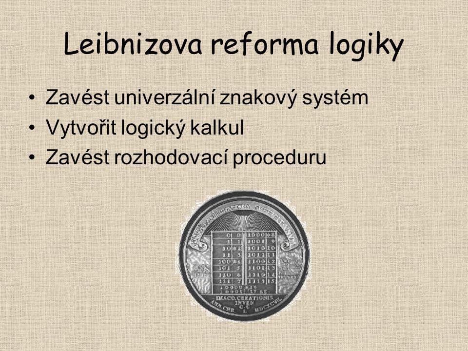 Leibnizova reforma logiky