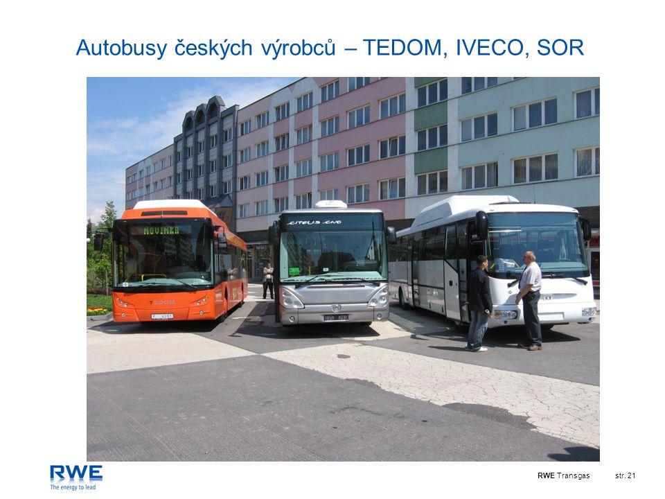 Autobusy českých výrobců – TEDOM, IVECO, SOR
