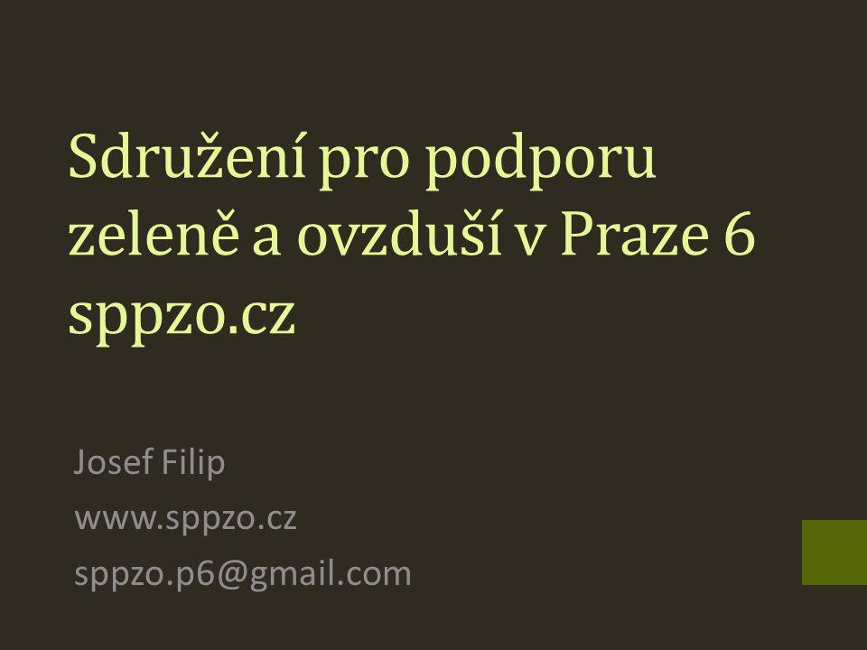 Sdružení pro podporu zeleně a ovzduší v Praze 6 sppzo.cz