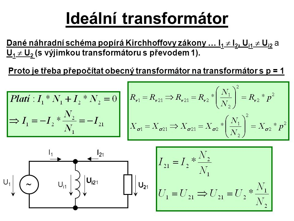 Ideální transformátor