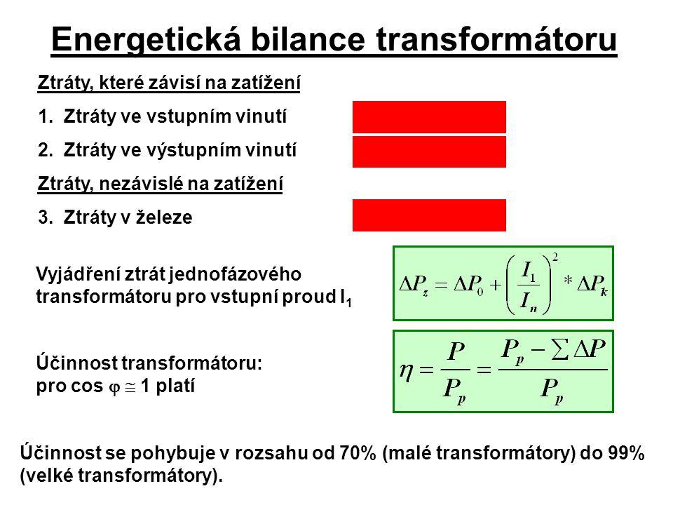Energetická bilance transformátoru