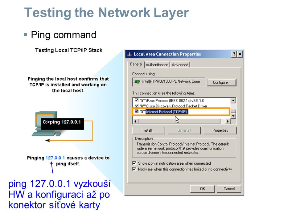 Testing the Network Layer