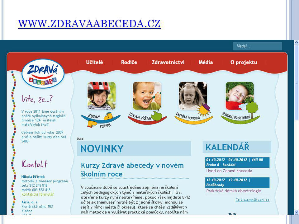 www.zdravaabeceda.cz