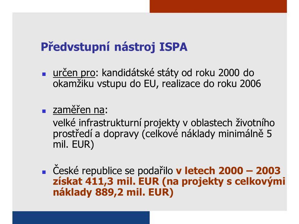 Předvstupní nástroj ISPA