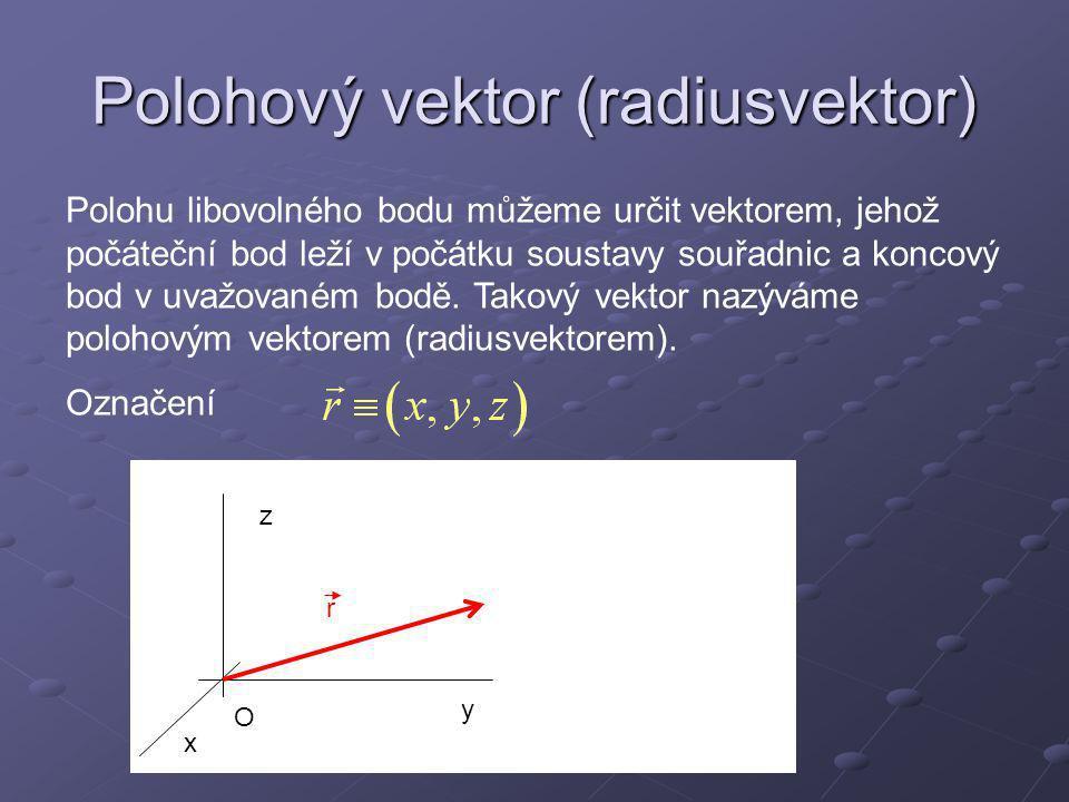 Polohový vektor (radiusvektor)