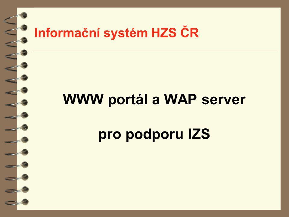 Informační systém HZS ČR