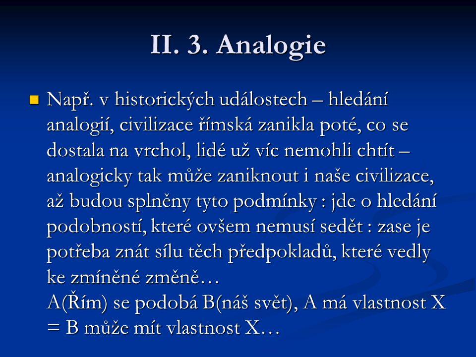 II. 3. Analogie