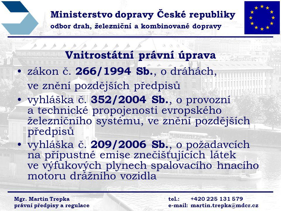 Vnitrostátní právní úprava