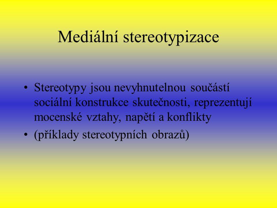 Mediální stereotypizace