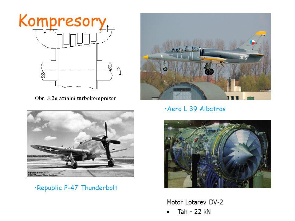 Kompresory Aero L 39 Albatros Republic P-47 Thunderbolt