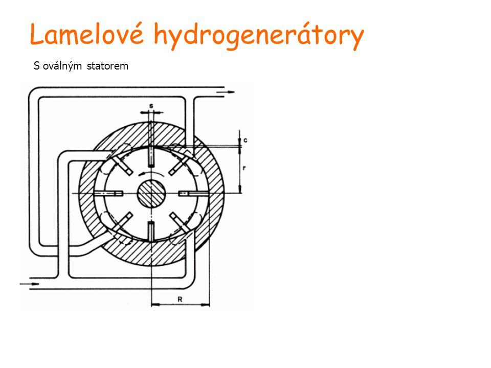 Lamelové hydrogenerátory