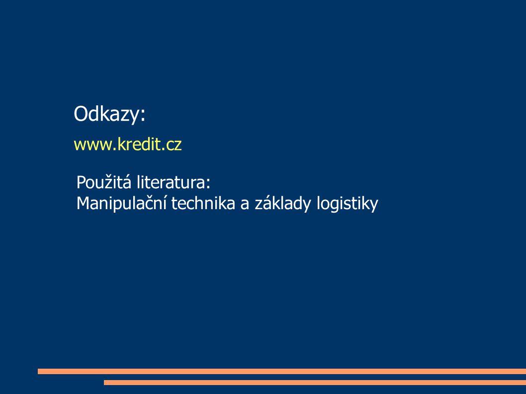 Odkazy: www.kredit.cz Použitá literatura: