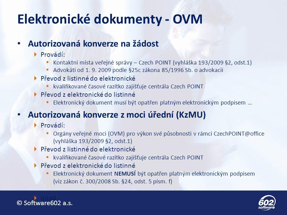Elektronické dokumenty - OVM