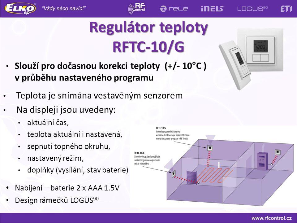 Regulátor teploty RFTC-10/G