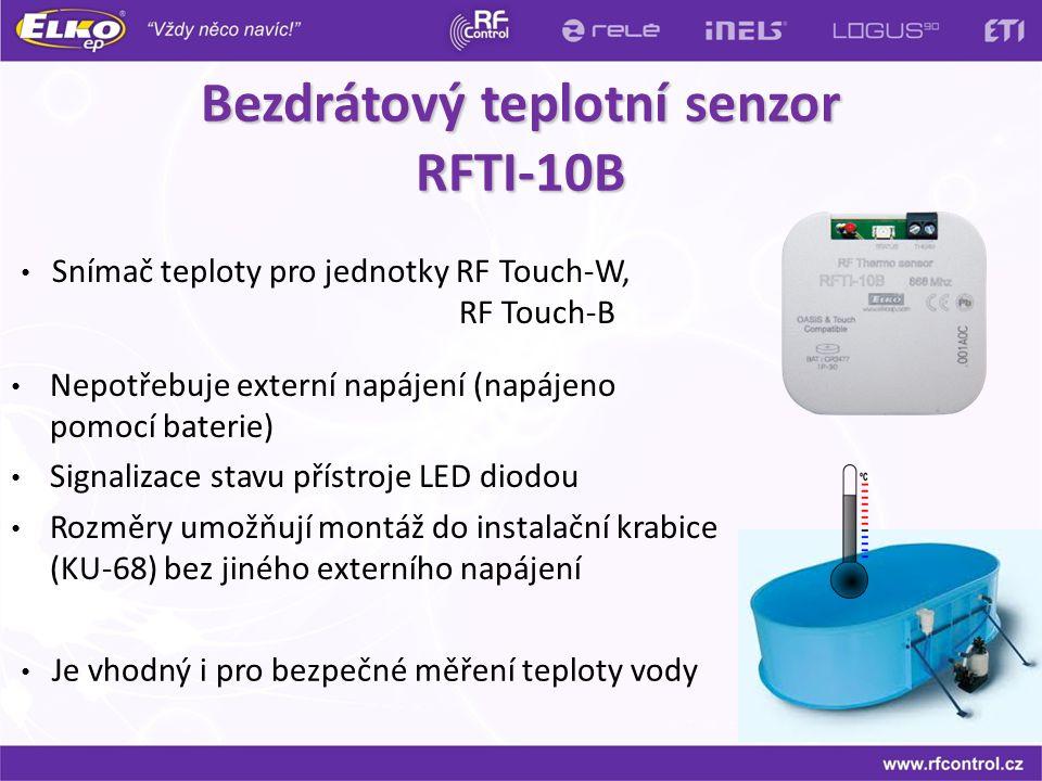 Bezdrátový teplotní senzor RFTI-10B