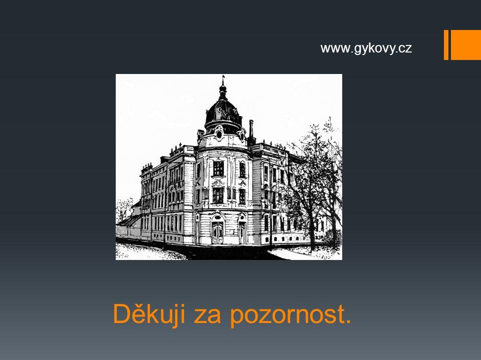 www.gykovy.cz Děkuji za pozornost.