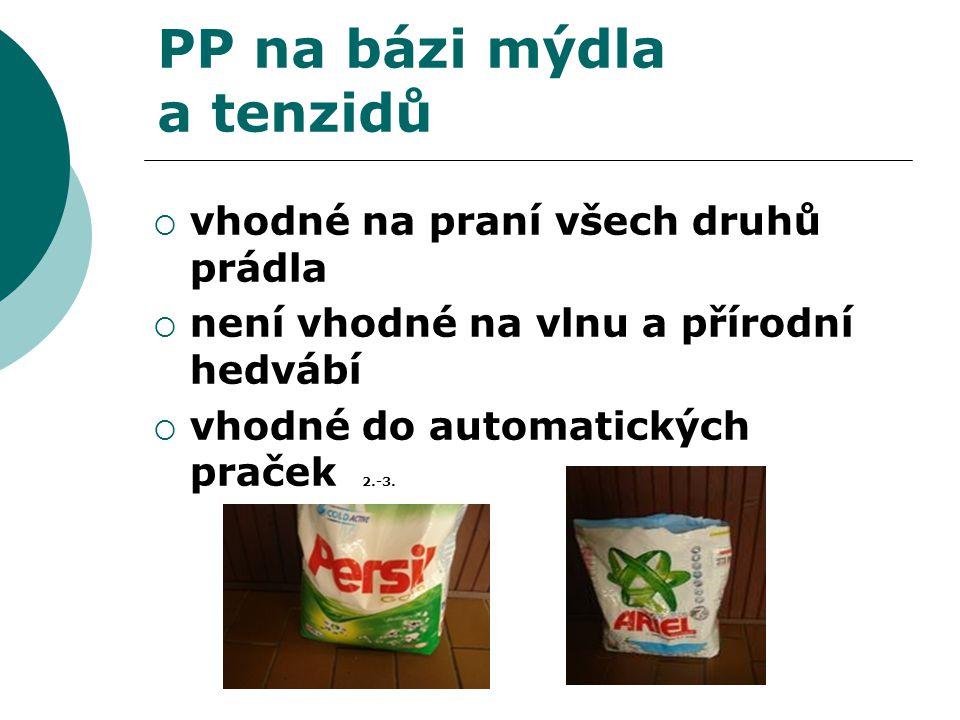 PP na bázi mýdla a tenzidů