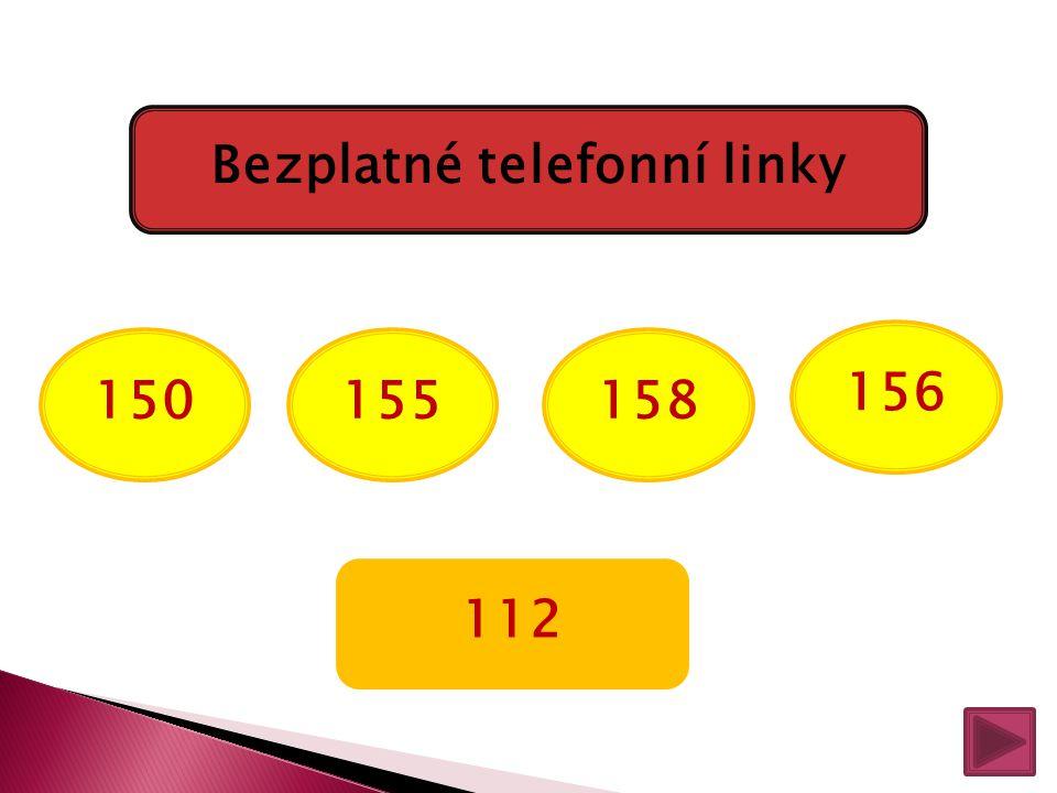 Bezplatné telefonní linky