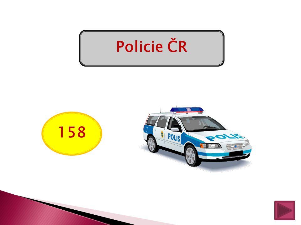 Policie ČR 158