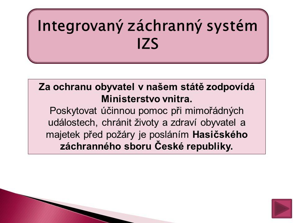 Integrovaný záchranný systém IZS