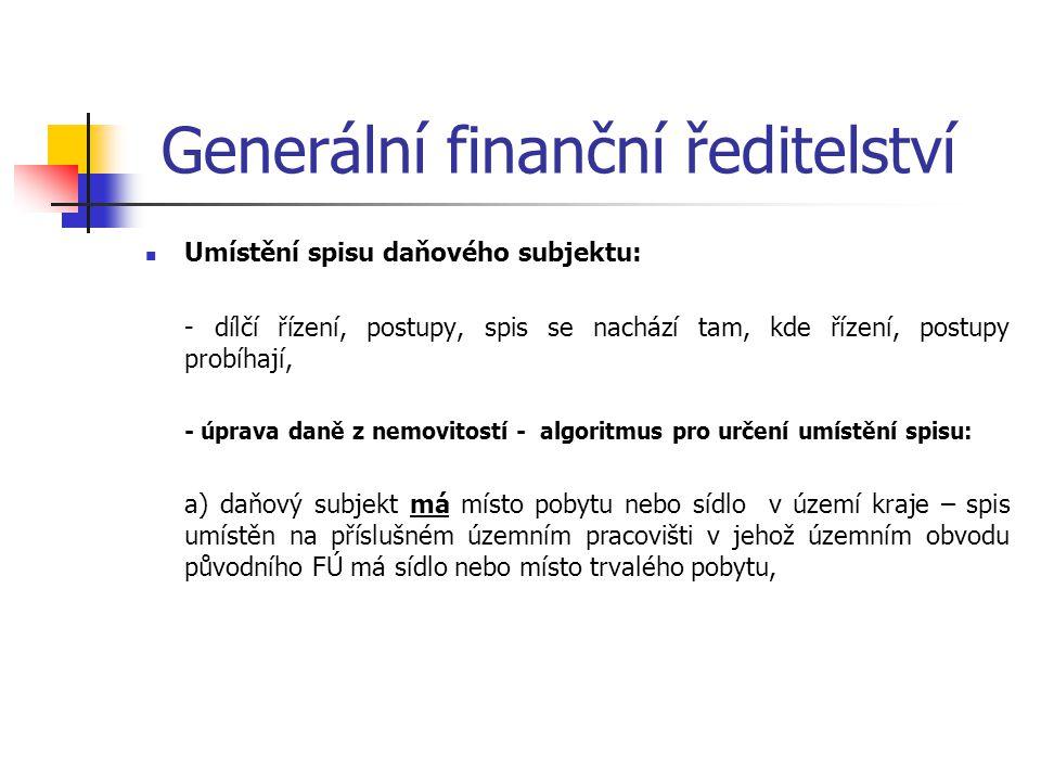 Generální finanční ředitelství